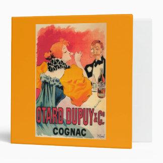 Otard-Dupuy & CO. Cognac Promotional Poster Binder