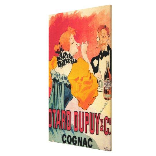 Otard-Dupuy & CO. Cognac Promotional Poster Canvas Print