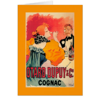 Otard-Dupuy & CO. Cognac Promotional Poster Card