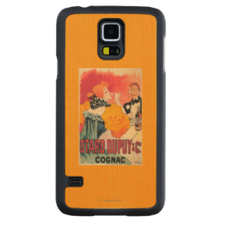 Otard-Dupuy & CO. Cognac Promotional Poster Carved® Maple Galaxy S5 Case