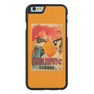 Otard-Dupuy & CO. Cognac Promotional Poster Carved® Maple iPhone 6 Slim Case