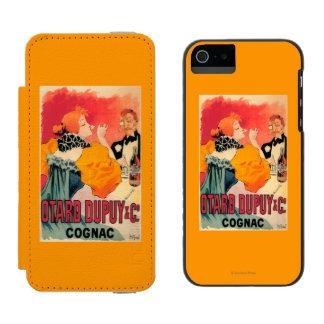 Otard-Dupuy & CO. Cognac Promotional Poster iPhone SE/5/5s Wallet Case