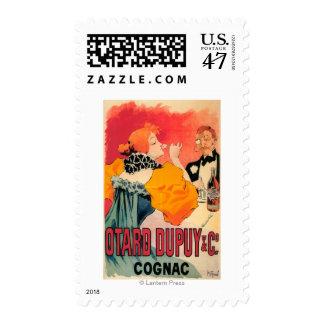 Otard-Dupuy & CO. Cognac Promotional Poster Postage Stamp