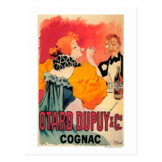 Otard-Dupuy & CO. Cognac Promotional Poster Postcard