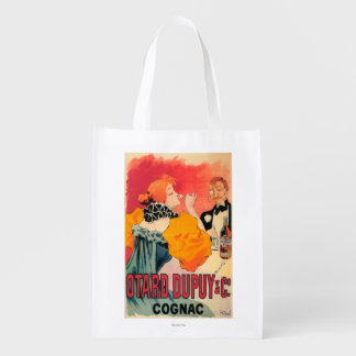 Otard-Dupuy & CO. Cognac Promotional Poster Reusable Grocery Bag