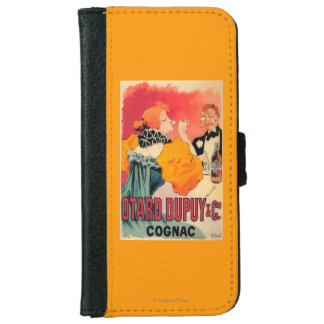 Otard-Dupuy & CO. Cognac Promotional Poster Wallet Phone Case For iPhone 6/6s