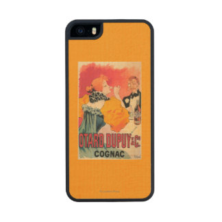 Otard-Dupuy & CO. Cognac Promotional Poster Wood Phone Case For iPhone SE/5/5s