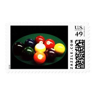 OTC Billiard Designs Postage Stamps