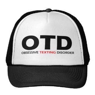 OTD - Desorden obsesivo de Texting Gorros