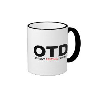 OTD - Desorden obsesivo de Texting Tazas
