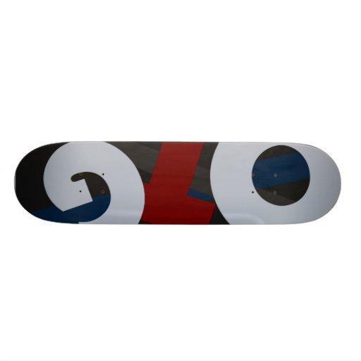 Otg logo BASIC Skate Decks