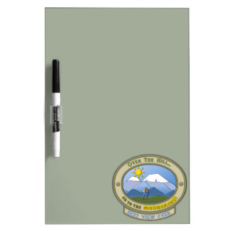 """OTH..., Dry-Erase Board, 12"""" x 8"""" (with pen) Dry-Erase Board"""