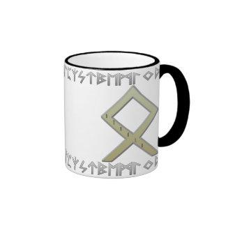 Othala Rune gold Mugs