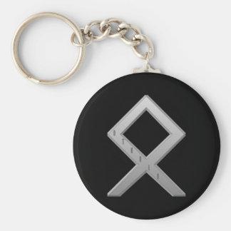 Othala Rune grey Keychain