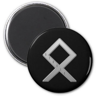 Othala Rune grey Magnet