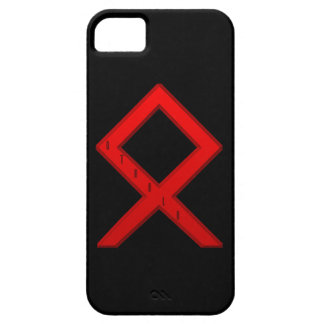 Othala Rune red iPhone SE/5/5s Case