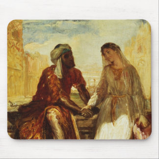 Othello and Desdemona in Venice, 1850 Mouse Pad