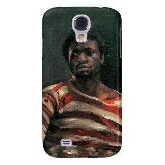 Othello painting black man portrait Lovis Corinth Samsung Galaxy S4 Cover