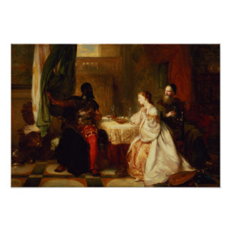 Othello Relating His Adventures to Desdemona Poster