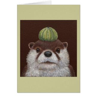 Othello the otter card
