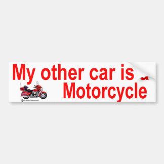 other car car bumper sticker