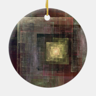Other Dimensions Double-Sided Ceramic Round Christmas Ornament