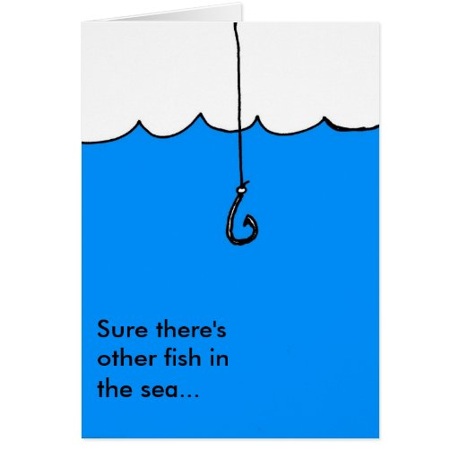 Other fish in the sea greeting cards zazzle for Other fish in the sea