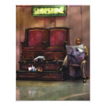 "Other - Lee's Shoe Shine Stand 4.25"" X 5.5"" Invitation Card"