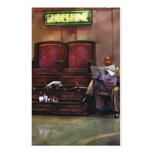 Other - Lee's Shoe Shine Stand Personalized Stationery
