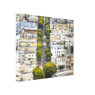 Other Side Of Lombard Stretched Canvas Prints