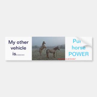 Other vehicle, sticker car bumper sticker
