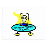 Other Vehicle UFO Postcard