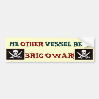 Other Vessel Pirate 2.0 Bumper Sticker