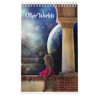 Other Worlds Calendar Art By Patti Ann Designs