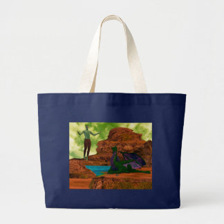 Other Worlds Large Tote Bag