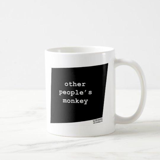 otherpeoplesmonkey.jpg coffee mug