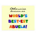 Otherwise Known as Best-est Abuela Gifts Postcard