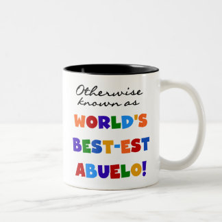 Otherwise Known as Best-est Abuelo Gifts Two-Tone Coffee Mug
