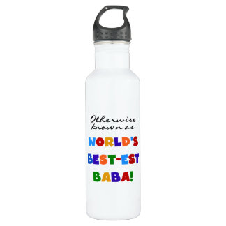 Otherwise Known As Best-est Baba Stainless Steel Water Bottle