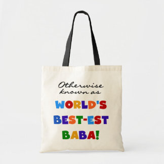 Otherwise Known as Best-est Baba T-shirts and Gift Tote Bag