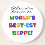 Otherwise Known as Best-est Beppe Beverage Coasters