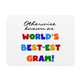 Otherwise Known as Best-est Gram Gifts Vinyl Magnet