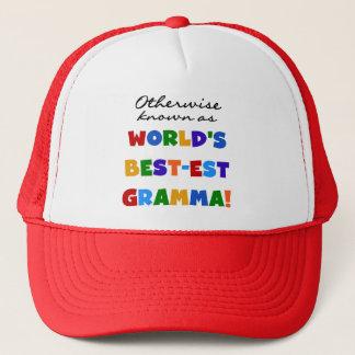 Otherwise Known as Best-est Gramma T-shirts Trucker Hat