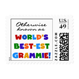 Otherwise Known as Best-est Grammie T-shirts Postage