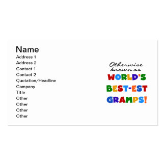 Otherwise Known as Best-est Gramps Double-Sided Standard Business Cards (Pack Of 100)