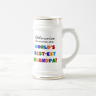 Otherwise Known as Best-est Grandpa Gifts Beer Stein