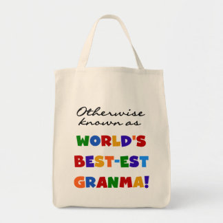Otherwise Known as Best-est Granma Gifts Tote Bag