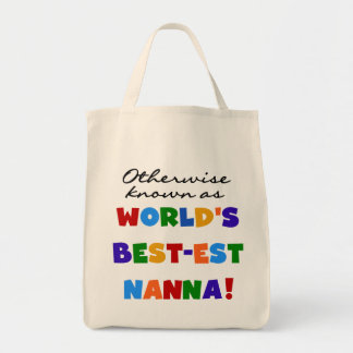 Otherwise Known as Best-est Nanna Gifts Tote Bag