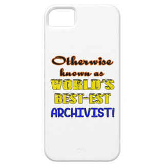 Otherwise known as world's bestest Archivist iPhone SE/5/5s Case