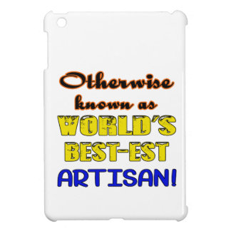 Otherwise known as world's bestest Artisan iPad Mini Covers